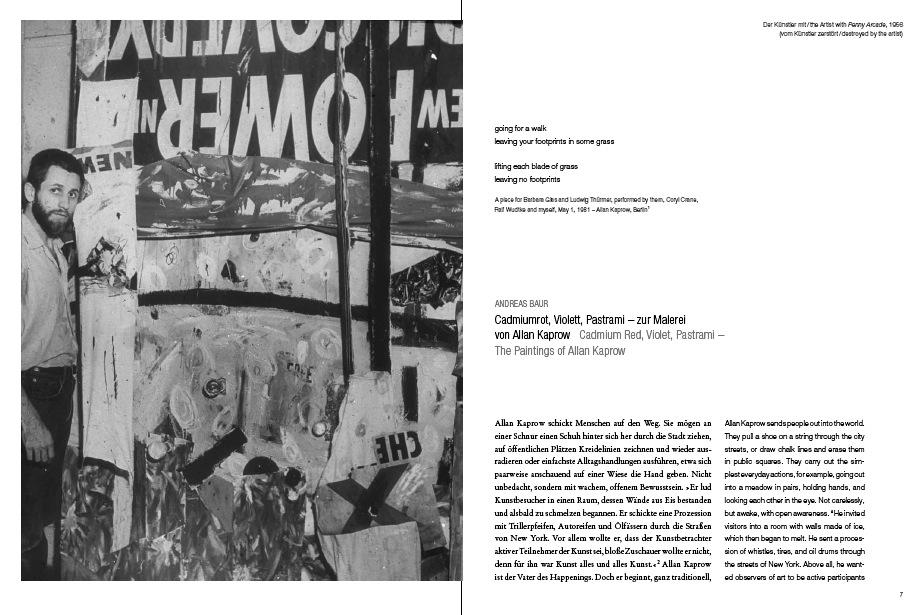 Hervorragend Allan Kaprow: Malerei 1946u20131957 U2013 Eine Werkschau